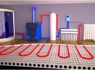 Отопление частного дома. Монтаж систем отопления